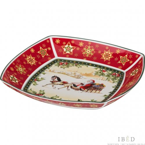 "САЛАТНИК ""CHRISTMAS COLLECTION"" 32*32"