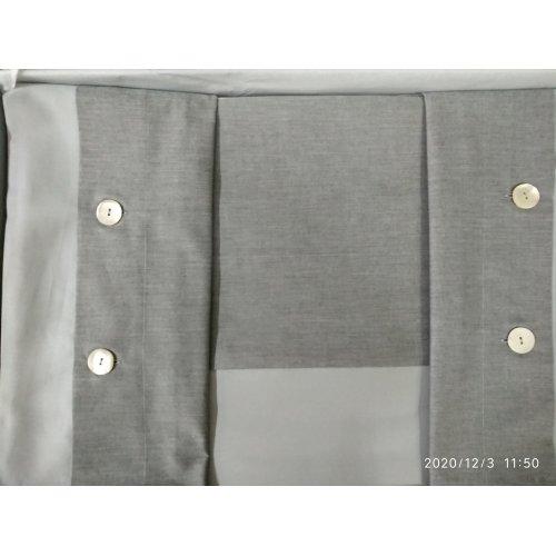 Постельное белье 220х200 CHARME серый